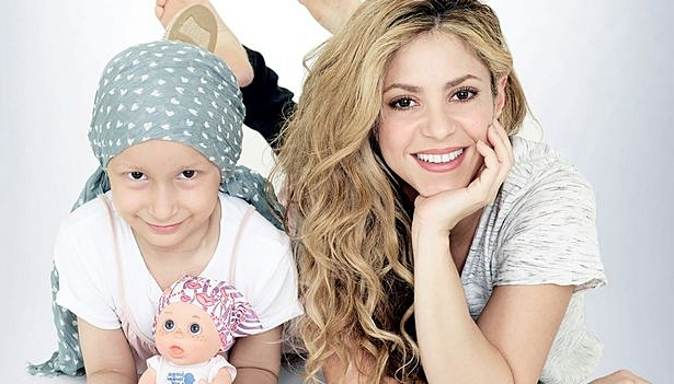 Shakira released hairless doll for children with cancer