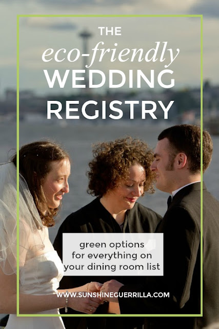 eco-friendly wedding registry zero waste seattle wedding