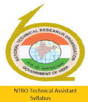 NTRO  Technical Assistant Syllabus 2017