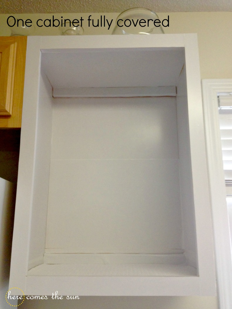 Cabinets Using Contact Paper Pinterest