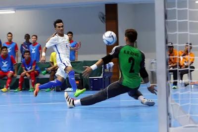 Skuad Sukan SEA Negara Ke Kejuaraan Futsal AFF 2017
