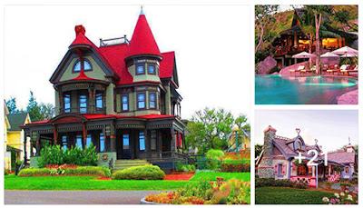24 Hermosas casas que parecen salidas de un cuentos de hadas