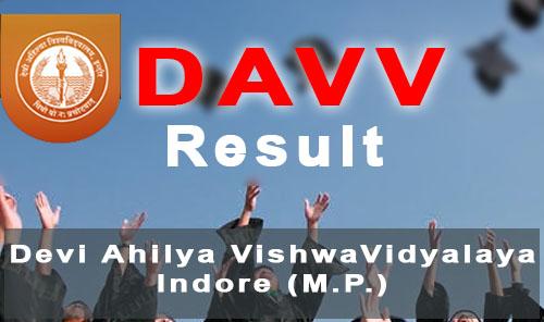 davv mponline result 2018 dauniv.ac.in