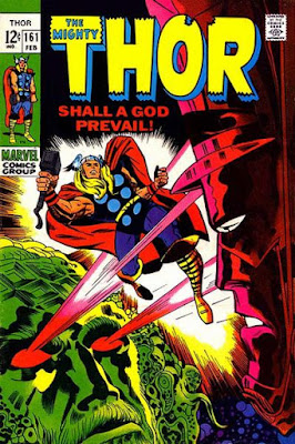 Thor #161, Galactus vs Ego