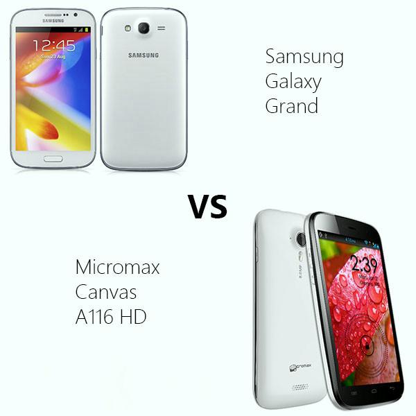 Micromax versus samsung