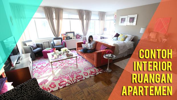 3 Contoh Tata Interior Ruang Keluarga Apartemen yang Simple