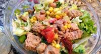 hafif ve besleyici ton balıklı patates salatası