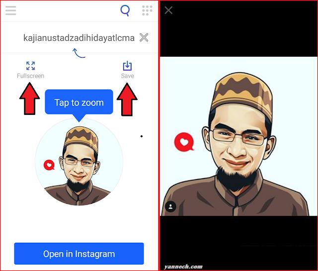 Cara Melihat Foto Profil Instagram Dan Menyimpannya