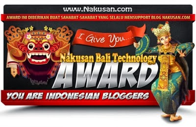 Award dari Nakusan Bali Technology