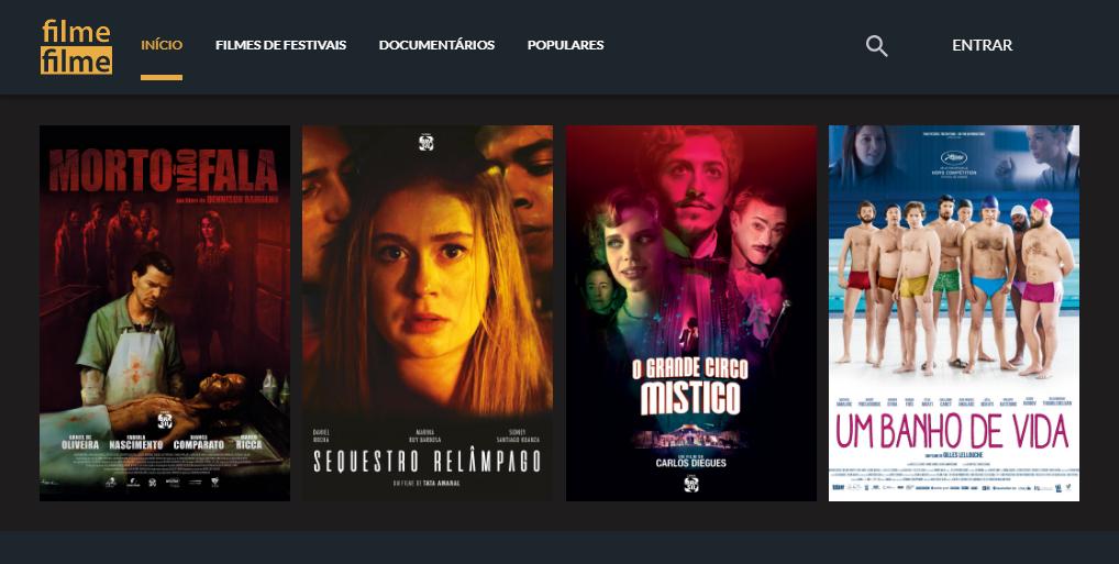 Filme Filme | Novo serviço de streaming para os apaixonados em cinema