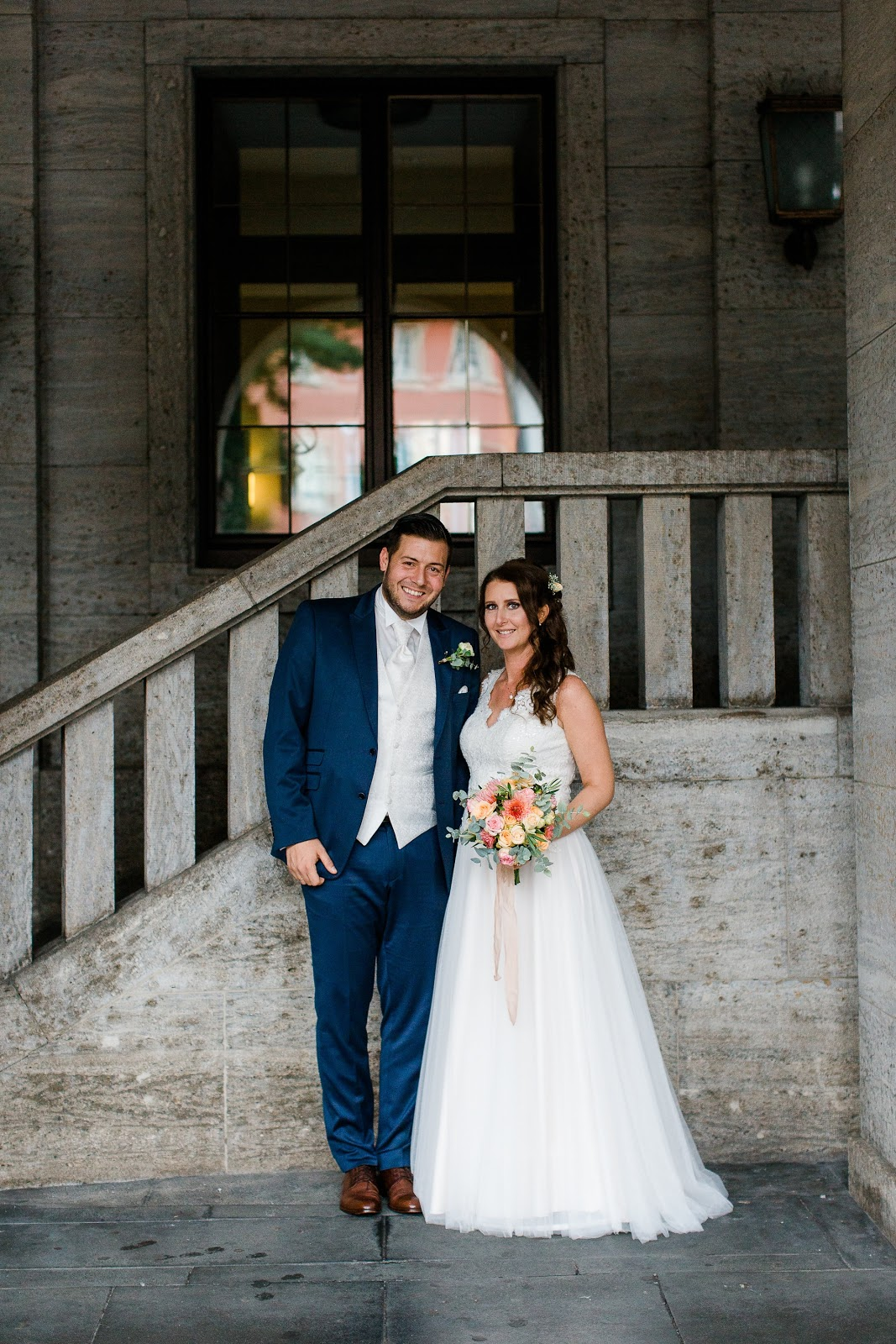 Hochzeitskleid Spitze nude