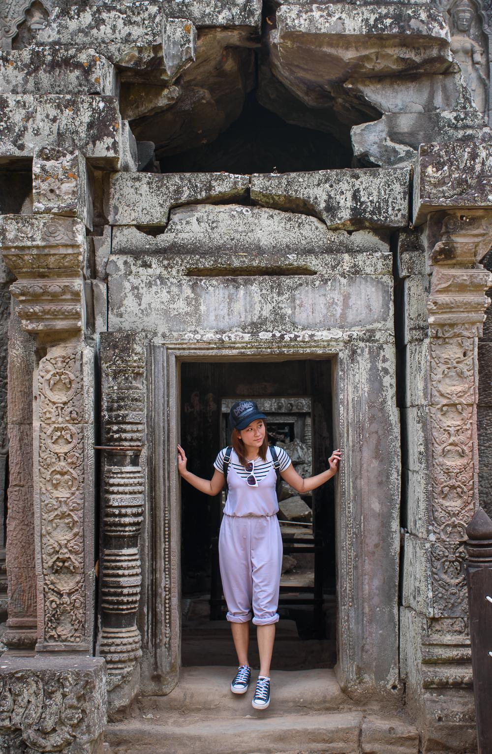 Ta Prohm temple siem reap cambodia