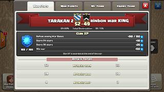 Clan TARAKAN 2 vs rinbon war KING, TARAKAN 2 Victory