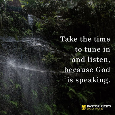 Four Ways God Speaks to You by Rick Warren