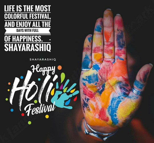 Happy Holi ||Holi Wishing Quotes Hindi English Font 2019
