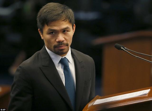 Senator Pacquiao Says No One Can Judge Ex-Dictator Marcos... Except God!