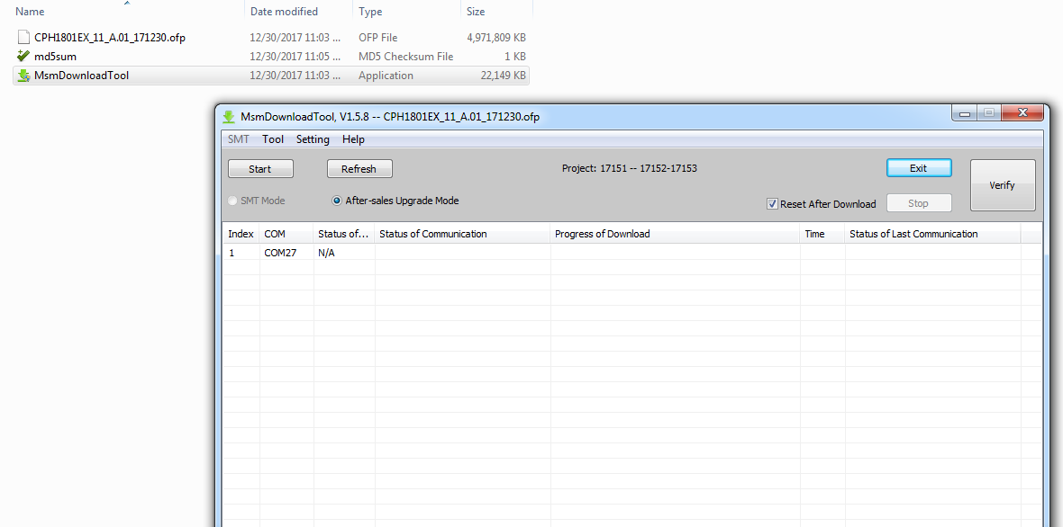 Oppo A71 CPH1801 Stock Rom By Tech-28 - Tech 28
