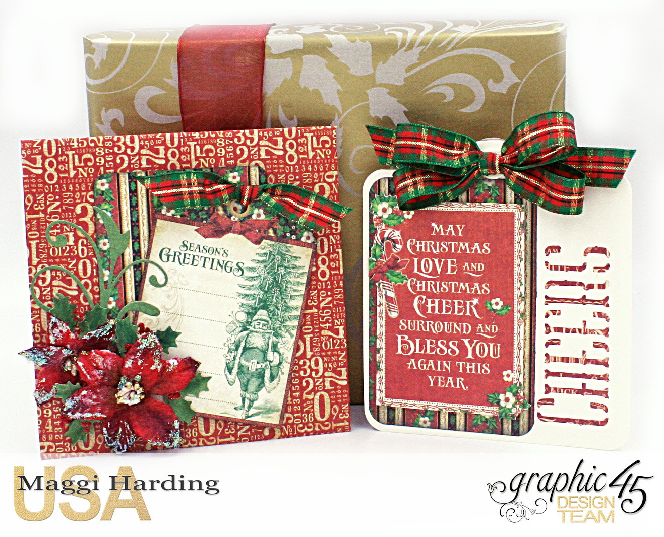 Scrap, Travel, and Bark!: Graphic 45 & Scrapbook Adhesives Christmas ...