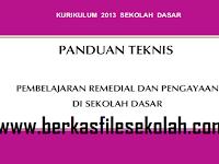 Download Panduan Teknis Program Pembelajaran Remedial SD MI Kurikulum 2013