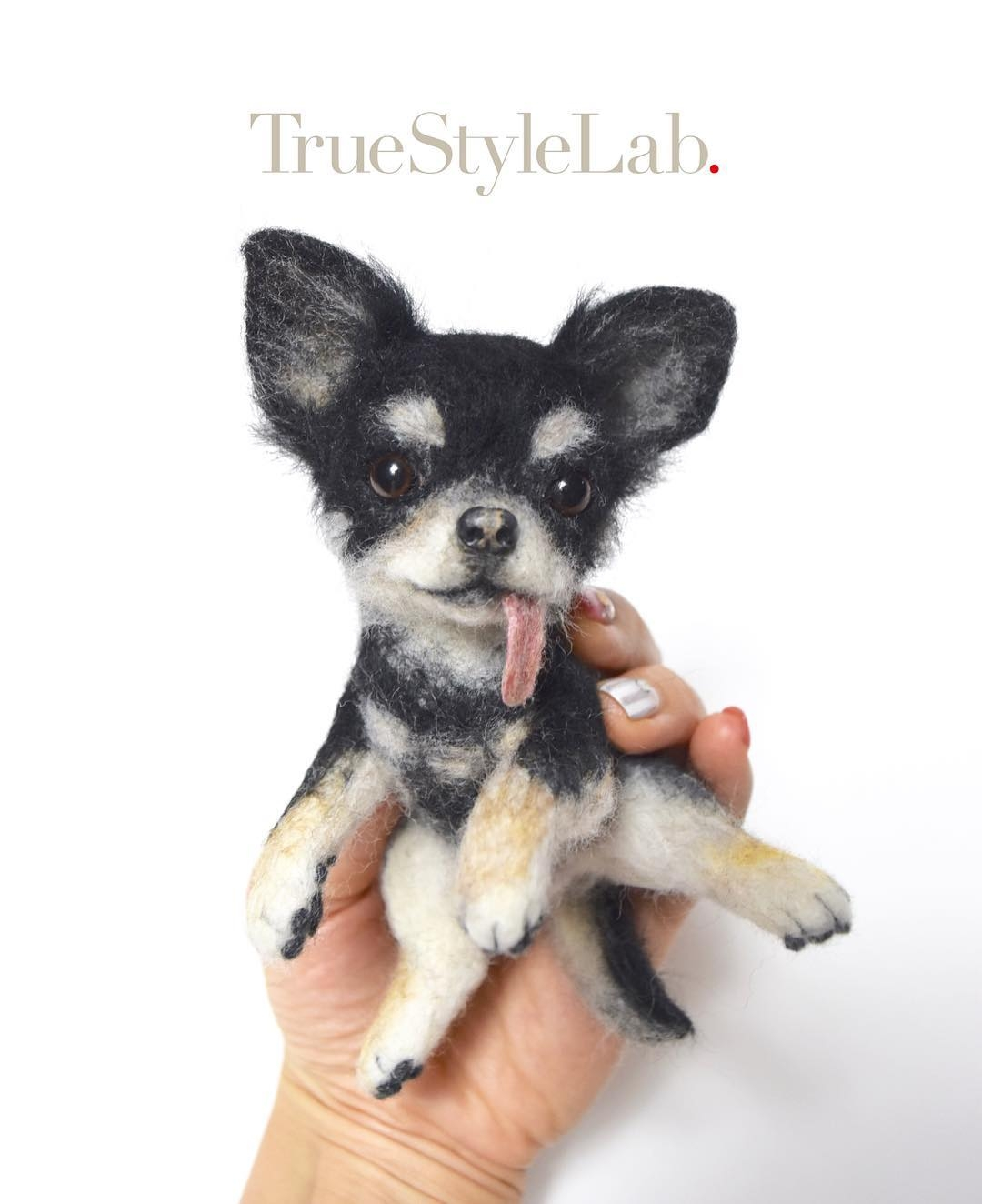 07-Chihuahua-Terumi-Ohta-Giving-Life-to-Woollen-Animal-Sculptures-www-designstack-co