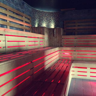 Sauna Room at Hale Country Club, Hale Country Club & Spa, Spa Days, Cheshire Spa Days, Luxury Pampering, Hale