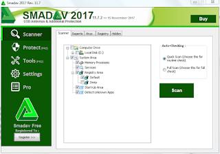 Cara Mengembalikan File yang Tersembunyi di Flashdisk dengan Smadav