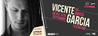 CONCIERTO de Vicente Garcia Junto y Caribefunk en Bogota