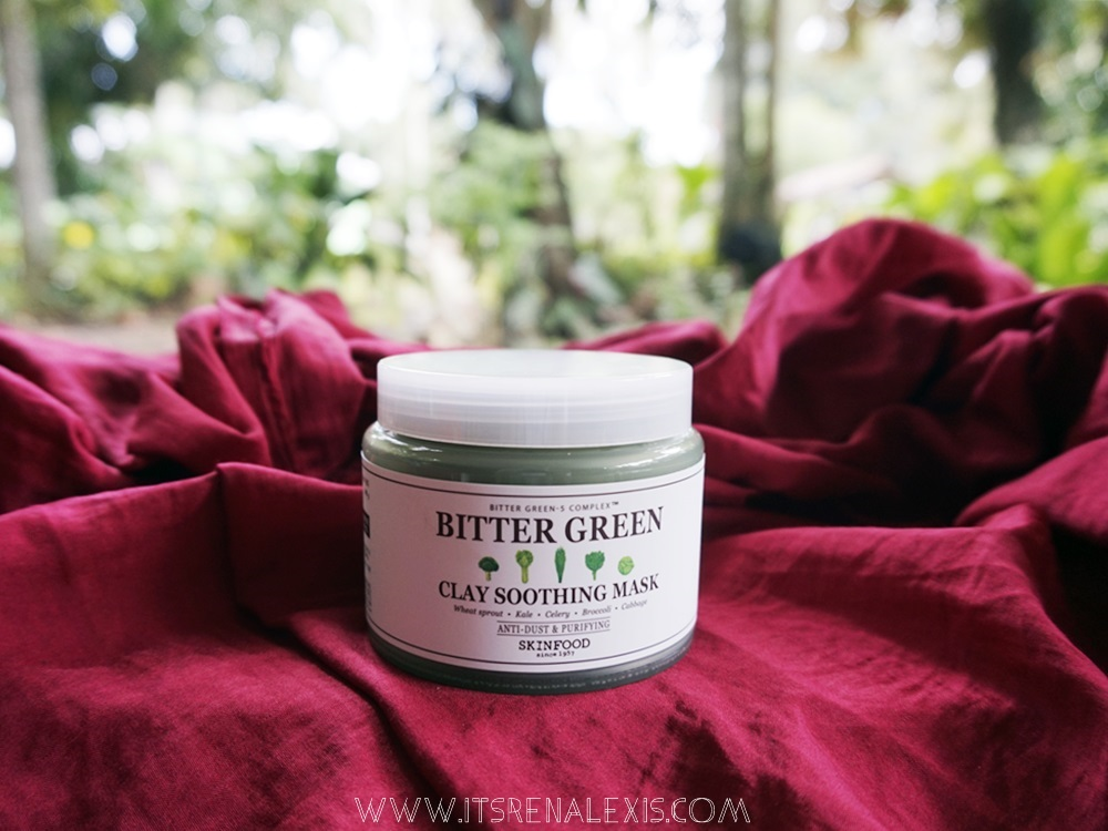 Skin Food Bitter Green Clay Soothing Mask