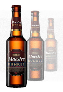 Tres Mahou Maestra Dunkel con Triple Temple