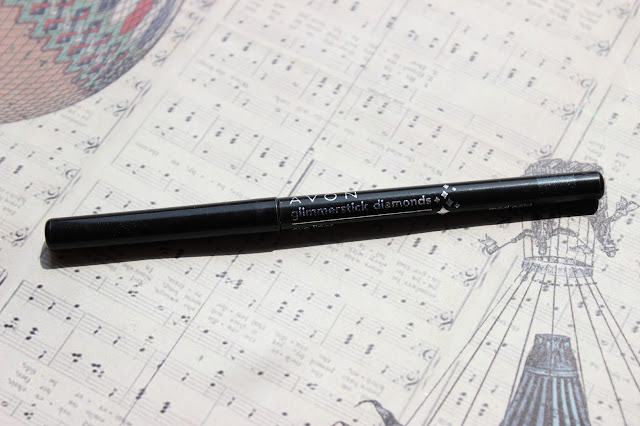 twenties make-up: Avon Glimmerstick Cosmic #Mod Gold