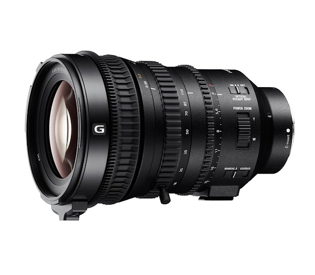 Experience powerful zoom with Sony's new Super 35mm / APS-C Professional lens