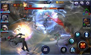 Marvel Future Fight Mod Apk attack speed 10x
