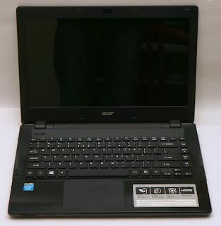 Laptop Acer Aspire E14 E5-411 Bekas