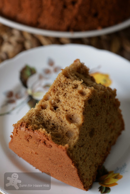 molasses brown sugar rum chiffon cake