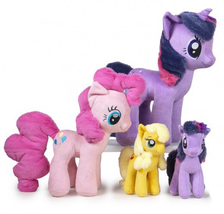 Play by Play Applejack Twilight Sparkle Pinkie Pie Plushies