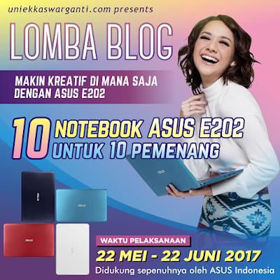 [BLOG COMPETITION] Makin Produktif dan Kreatif Bersama Notebook Kesayangan