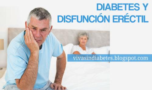 disfunción eréctil por diabetes
