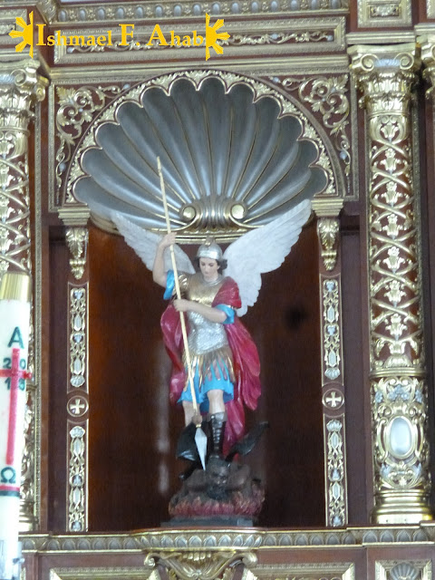 Image of Saint Michael the Archangel in the Saint Michael the Archangel Chapel, Fort Bonifacio