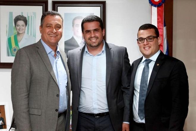 Governador recebe prefeito de Várzea Nova e anuncia recuperação da BA-144