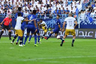 نتيجه مشاهدة مباراة الهلال والنصر 26-3-2019 الدوري السعودي انتهت بفوز النصر 3 - 2