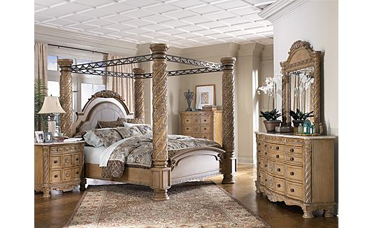 Investment Game Ashley South Coast Bedroom Set