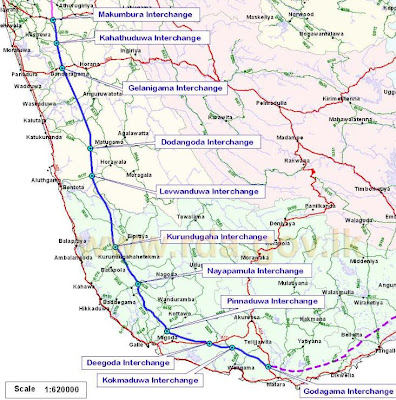 InvestSriLanka: E01 Southern Expressway Bus Schedule and Fares