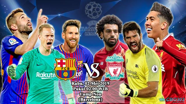 Prediksi Liga Champions Barcelona vs Liverpool (2 Mei 2019)