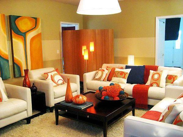 Contoh Warna Cat Ruang Tamu yang Bagus