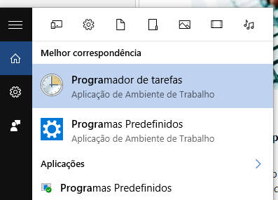 programador de tarefas do windows