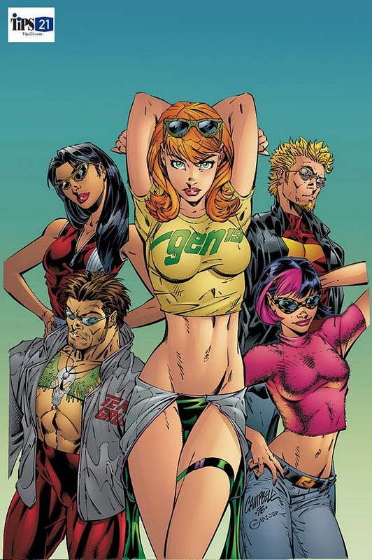 sexy comic book babes