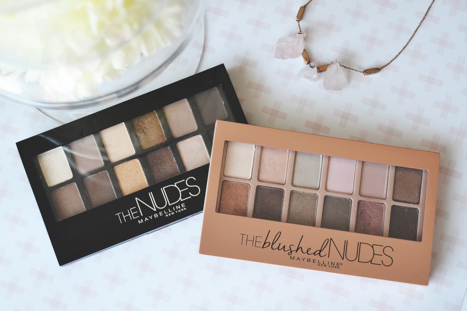 Collection eyes uncovered nude rose palette review and photos