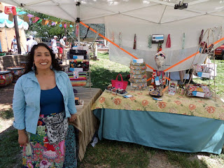 Diana from joliefemme on Etsy shares her experience and advice about selling at craft fairs and festivals