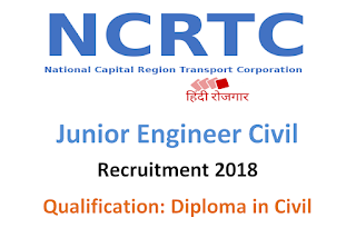 NCRTC Junior Engineer (JE) Previous Question Papers and Syllabus 2018
