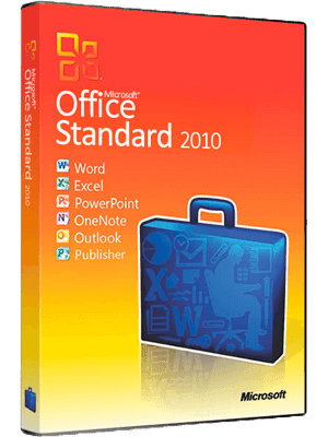 Microsoft Office Standar 2010 box